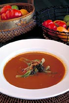 Heirloom Tomato BLT Soup, Jerry Regester, Stillwater at The Lodge at Pebble Beach
