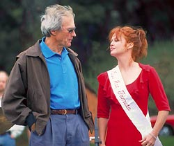 Clint Eastwood and Tracy Griffith, Miss Hot Tomato