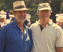 Gary Ibsen and Clint Eastwood