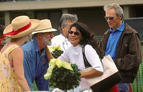 Dagma Lacey, Gary Ibsen, Dina Eastwood, Clint Eastwood