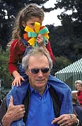 Clint Eastwood & Daughter